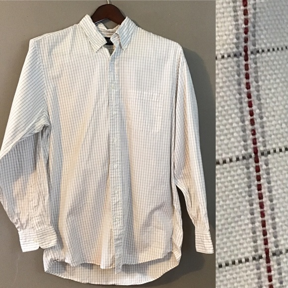 Lands' End Other - 5 For $15 Lands' End White Check Button Down